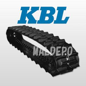 運搬車・作業車用ゴムクローラー 2041SK KBL 230x72x43【個人宅都度確認】