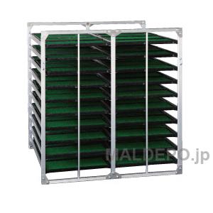 水平型 苗箱収納棚 BR-80 昭和ブリッジ 4x2x10箱【受注生産品】【個人法人別運賃】