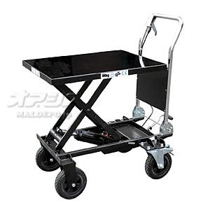 油圧式テーブル運搬車 KT-180XL 和コーポレーション 180kg 大車輪幅広タイプ【個人宅都度見積り】【条件付送料無料】