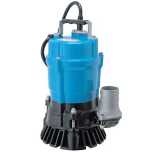 一般工事排水用 非自動形水中ハイスピンポンプ HS2.4 三相200V 50Hz 0.4kW 口径50mm ツルミポンプ(鶴見製作所)
