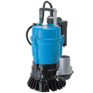 一般工事排水用 自動運転形水中ハイスピンポンプ HSE2.4S 単相100V 50Hz 0.4kW 口径50mm ツルミポンプ(鶴見製作所)