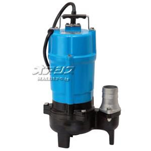 一般工事排水用 通過径重視タイプ水中ハイスピンポンプ HSU2.55S 単相100V 50Hz 0.55kW 口径50mm ツルミポンプ(鶴見製作所)