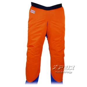 チェンソー 作業用防護衣 チャップス MT565 オレンジ LL MAC GREEN(マックグリーン/MAX/マックス)