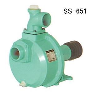 高圧型 キャナルステンポンプ SS-651 逆止弁付 口径65mm カルイ