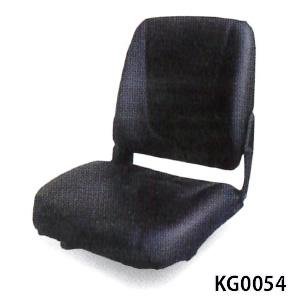 建機用オペレーターシート KG0054 KBL リクライニング式