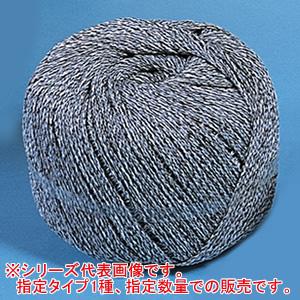 農事用 ビニコンロープ T35 3.5mm 2kg玉 白/黒 10巻セット 東京戸張