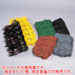 フラワーネット Cタイプ C1010 10cm角 10目 1.00m*100m 茶 400dX24本撚糸 東京戸張