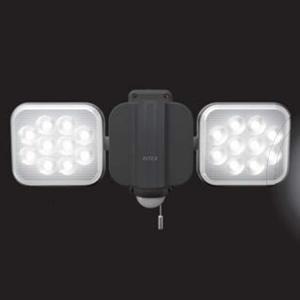 RITEX フリーアーム式 LED センサーライト LED-AC2024 (株)ムサシ 12Wx2 LED【地域別運賃】
