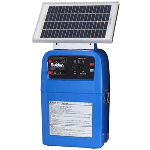 電機牧柵器 ソーラータイプセット SEF-100-S 10000V スイデン