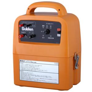 電機牧柵器(本機のみ) SEF-100-4W 10000V 4電源タイプ スイデン