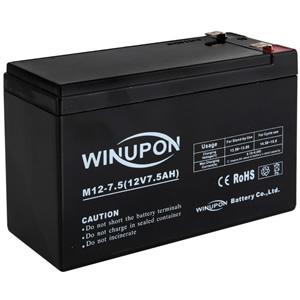 電機牧柵器 SEF-100-4W専用 Sバッテリー 12V 7.5Ah 過充電保護付 スイデン