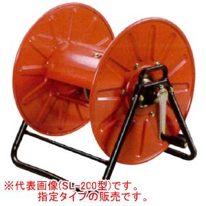 強力型組立巻取機 ストロングリール SL-150型 永田製作所 G1/4より戻し付 φ8.5x150m/φ10x100m用