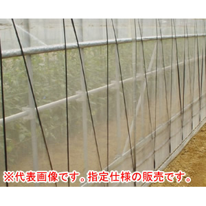 防虫ネット(防虫網) サンサンネット ソフライト SL3200 2.1x100m 日本ワイドクロス 目合0.6mm 遮光率87%【法人のみ】