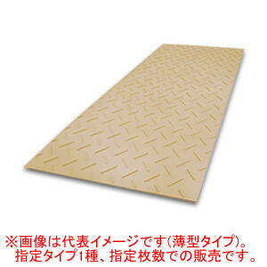 農業分野専用 樹脂製 養生敷板 Diban 片面凸 茶系 厚型3x6 10枚セット ウッドプラスチックテクノロジー 910*1820*15mm/枚【法人のみ】