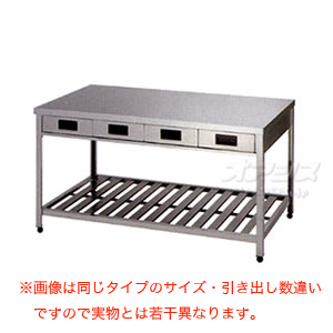 両面引出し付作業台 YTWO-900 東製作所(azuma) 【法人様向け】