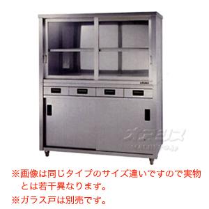 食器戸棚 両面引出し付両面引違戸 ACSWO-1800L 東製作所(azuma) 【法人様向け】