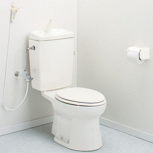 簡易水洗トイレ 洗浄ガン・手洗付 RMA001I(AF450TR9LI) アサヒ衛陶 アイボリー 壁給水