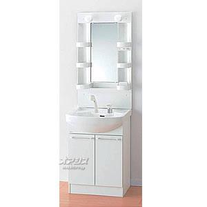 シャワー混合水栓 洗面化粧台 600mmタイプ LK3611KUW10+M601SBH アサヒ衛陶