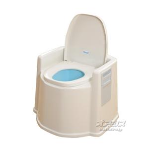 テイコブポータブルトイレ(肘掛け付)PT02 幸和製作所