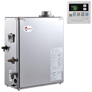 水道直圧式石油給湯機 給湯タイプ 屋内用 ステンレス外装 CBX-EN482E 長府工産(株) デジタルリモコン付き