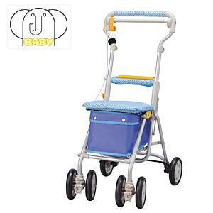 シルバーカー ヘルスバッグ ライトミニGN (チェックブルー) ウィズワン