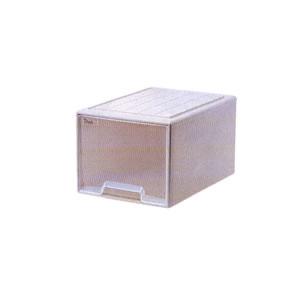 収納ケース シンククローゼットD ソフトベージュ 6個セット サンコー