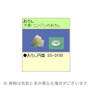 SS-350A用刃物円盤 おろし SS-D100 (株)中部コーポレーション