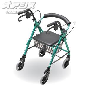 テツコーポレーション 歩行補助車 ロレーター ミスティグリーン T-9001
