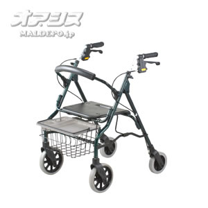 歩行車 セーフティアーム ロレータII ハイタイプ RSA2-G グリーン イーストアイ