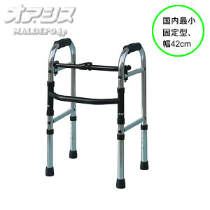 歩行器 ミニフレーム ウォーカー固定型 WFM-4262 シンエンス
