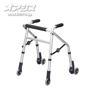 歩行器 ミニフィット (超ミニ) キャスター付 XS-148E ユーバ産業