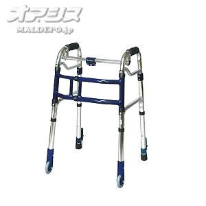 歩行器 スライドフィット キャスター ミニタイプ M-0193S ユーバ産業