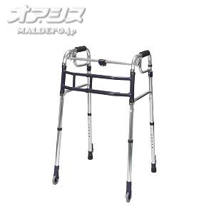 歩行器 スライドフィット キャスター 超ハイタイプ 室内専用 HT-0193S ユーバ産業