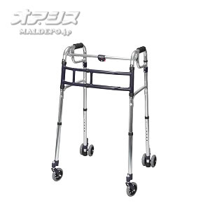 歩行器 スライドフィット 4インチWキャスター 超ハイタイプ HT-0194W ユーバ産業