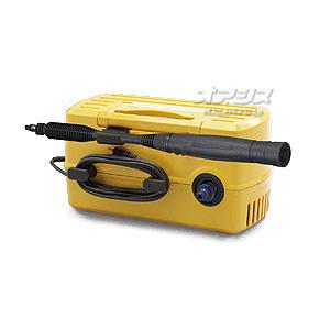 高圧洗浄機 コンパクト&静音型 スターターセット FBN-402 イエロー アイリスオーヤマ
