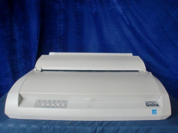 中古プリンター ドットプリンター HITACHI Prinfine IMPACT DX1080 PC-PD1080 パラレル USB接続対応 ドットインパクトプリンタ 整備清掃済【送料無料】