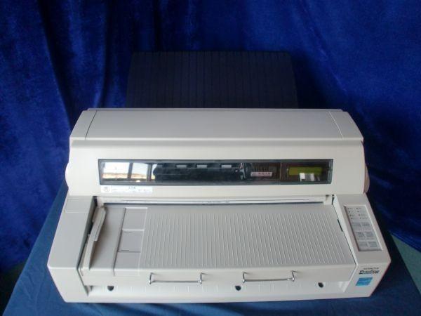 中古プリンター ドットプリンター HITACHI Prinfina IMPACT DX4081A PC-PD4081A パラレル USB接続対応 ドットインパクトプリンタ 整備清掃済【送料無料】