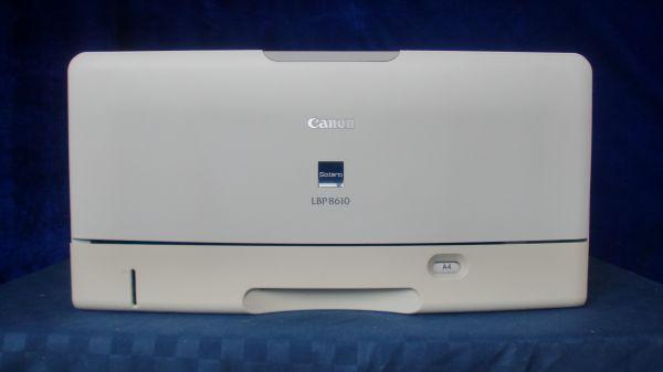 中古プリンター レーザープリンター モノクロ Canon LBP8610 USB 有線LAN接続対応 整備清掃済 送料無料【印刷枚数2000枚以内】【岐阜出荷】
