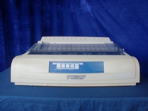 中古プリンター ドットプリンター OKIデータ MICROLINE 80HU パラレル USB接続対応 ドットインパクトプリンタ 整備清掃済【送料無料】