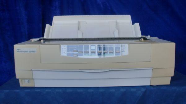 中古プリンター ドットプリンター NEC MultiImpact 201MX PR-D201MX パラレル接続対応 ドットインパクトプリンタ 整備清掃済【送料無料】