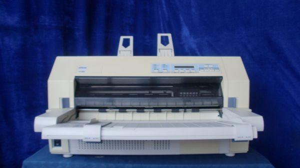 中古プリンター ドットプリンター EPSON IMPACT-PRINTER VP-6200 パラレル 有線LAN接続対応 ドットインパクトプリンタ 整備清掃済【送料無料】