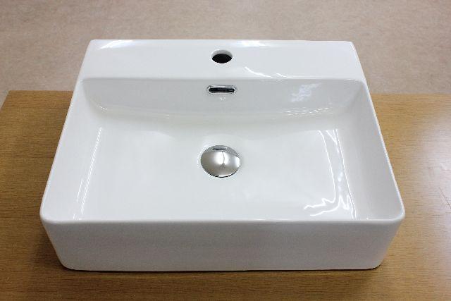 洗面ボウル(洗面ボール 手洗い鉢)+排水栓、排水Sトラップ セット おしゃれ 洗面器 洗面台 洗面化粧台 手洗い器 手洗いボウル 陶器 洗面ボウルKORS-1059