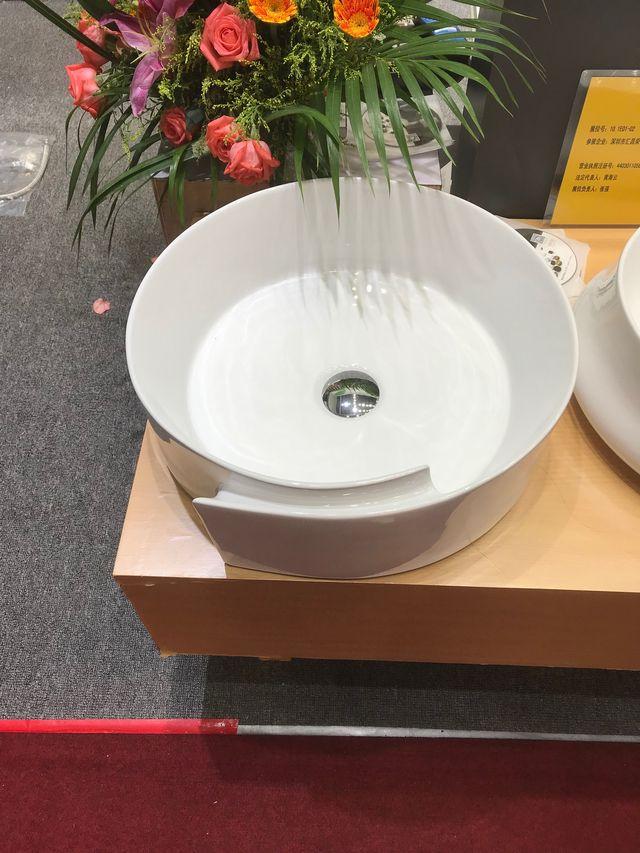 洗面ボウル(洗面ボール 手洗い鉢)+排水栓、排水Sトラップ セット おしゃれ 洗面器 洗面台 洗面化粧台 手洗い器 手洗いボウル 陶器 洗面ボウル KORS-1338B丸型
