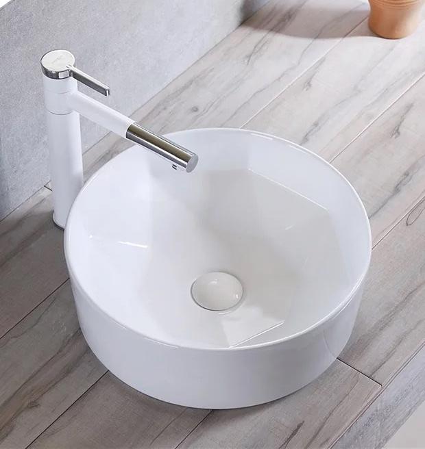 洗面ボウル(洗面ボール 手洗い鉢)+排水栓、排水Sトラップ セット おしゃれ 洗面器 洗面台 洗面化粧台 手洗い器 手洗いボウル 陶器 洗面ボウル KORS-1330