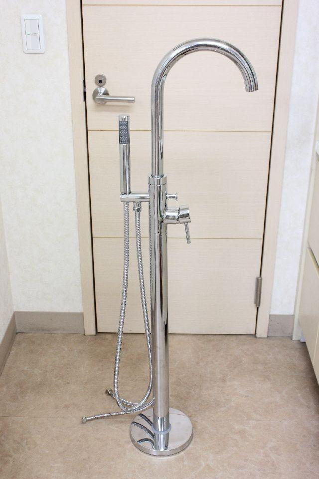 床置き型シャワー水栓KOJ-510クロム