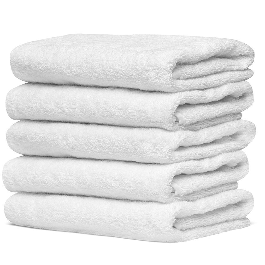 【特価品】バスタオル 1000匁 白 120枚セット