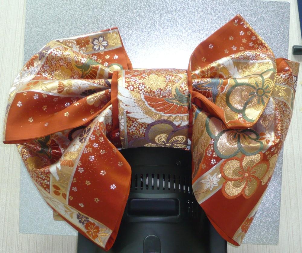 飾り文庫結び お手持ちの帯の二部式作り帯に加工を賜ります