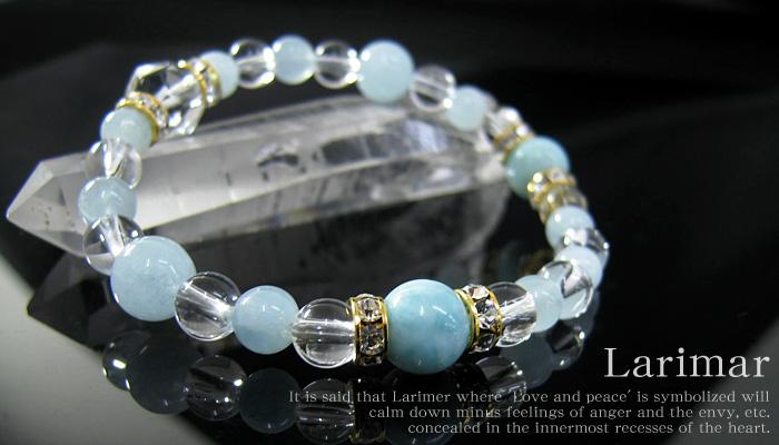 ブレスレット ラリマー SA 8ミリ玉 アクアマリン 6ミリ 8ミリ玉 水晶 パワーストーン 天然石 レディース メンズ 【ゆうパケット不可】