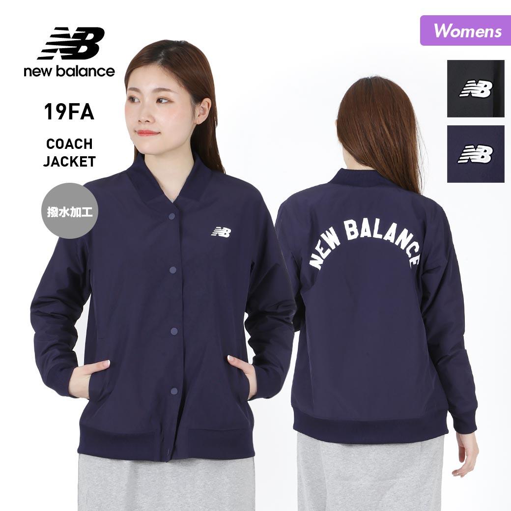 NEW BALANCE/ニューバランス レディース コーチジャケット AWJ83529 ナイロンジャケット 撥水 長袖 バックロゴ 女性用