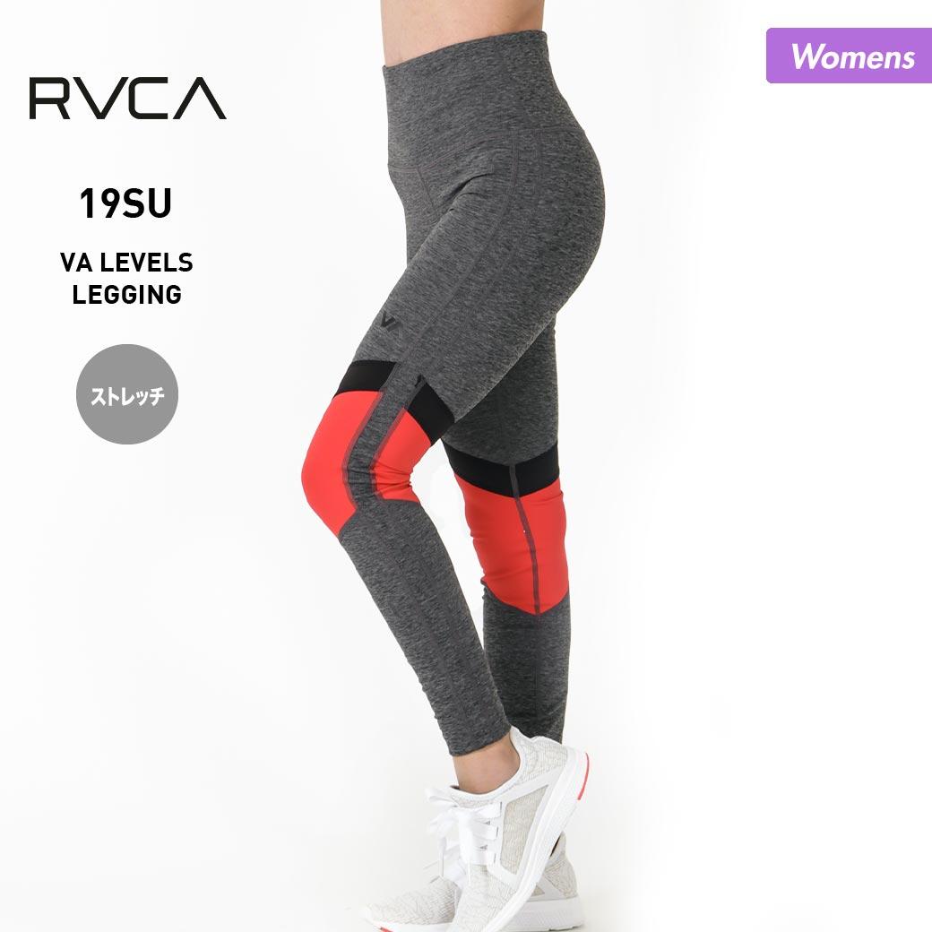 RVCA ルーカ レディース スポーツ用 レギンス AJ043-870 フィットネス タイツレギンス ジム レギンスタイツ スポーツウェア ヨガ トレーニング 女性用, たにがわ薬局 359c26ca